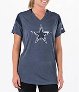 Women's Nike Dallas Cowboys NFL Short-Sleeve Fan T-Shirt