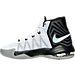 Left view of Men's Nike Air Max Audacity 2016 Basketball Shoes in 100