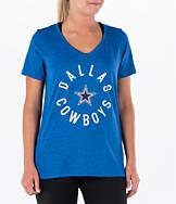 Women's Nike Dallas Cowboys NFL Dri-FIT Touch T-Shirt