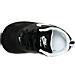 Top view of Boys' Toddler Nike Air Max Tavas Running Shoes in Black/White