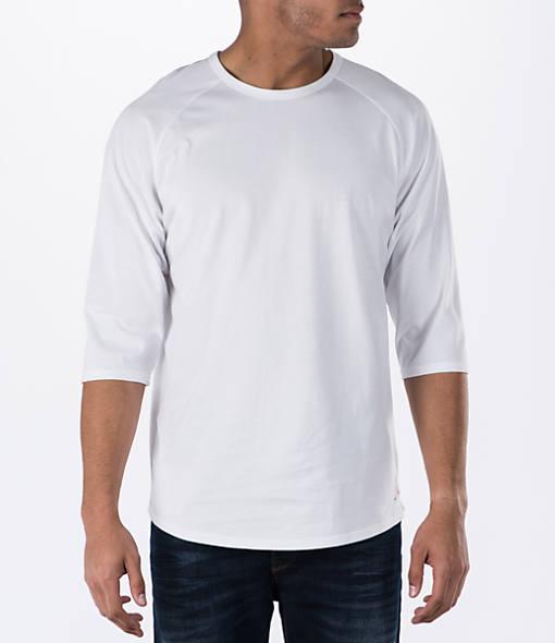 Men's Air Jordan 4 Pure Money Baseball T-Shirt