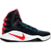 Right view of Men's Nike Hyperdunk 2016 Basketball Shoes in 446