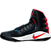 Left view of Men's Nike Hyperdunk 2016 Basketball Shoes in 446