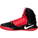 Left view of Men's Nike Hyperdunk 2016 BLK Basketball Shoes in 016