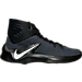 Right view of Men's Nike Zoom Clear Out Basketball Shoes in 001