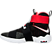 Left view of Men's Nike LeBron Soldier 10 Basketball Shoes in