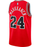 Men's Nike Chicago Bulls NBA Lauri Markkanen Icon Edition Connected Jersey
