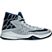 Right view of Men's Nike Zoom Devosion Basketball Shoes in Wolf Grey/Loyal Blue/Game Royal