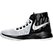 Left view of Men's Nike Zoom Devosion Basketball Shoes in