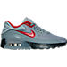 Right view of Boys' Grade School Nike Air Max 90 Ultra SE Casual Shoes in