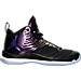 Right view of Men's Air Jordan Super.Fly 5 Basketball Shoes in Black/Concord/White