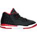 Right view of Boys' Preschool Jordan Academy Basketball Shoes in 001