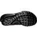 Bottom view of Boys' Preschool Nike Presto Casual Shoes in Black/Black/Black