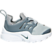 Right view of Boys' Toddler Nike Little Presto Running Shoes in Cool Grey/White/Wolf Grey