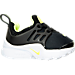 Right view of Boys' Toddler Nike Little Presto Running Shoes in Black/Volt/White