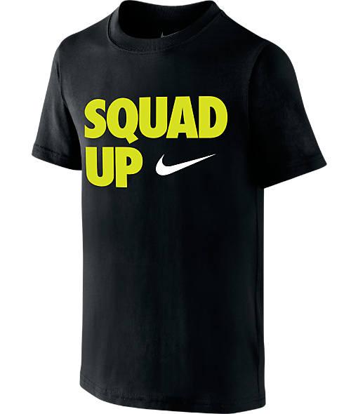 Boys' Nike Squad Up Swoosh T-Shirt