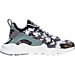 Right view of Women's Nike Air Huarache Run Ultra Print Running Shoes in Stealth/Black/White