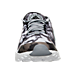 Front view of Women's Nike Air Huarache Run Ultra Print Running Shoes in Stealth/Black/White