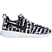 Right view of Women's Nike Roshe One Print Casual Shoes in White/Black/Black/White