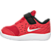Left view of Boys' Toddler Nike Stelos Running Shoes in 600