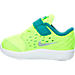Left view of Boys' Toddler Nike Stelos Running Shoes in 700