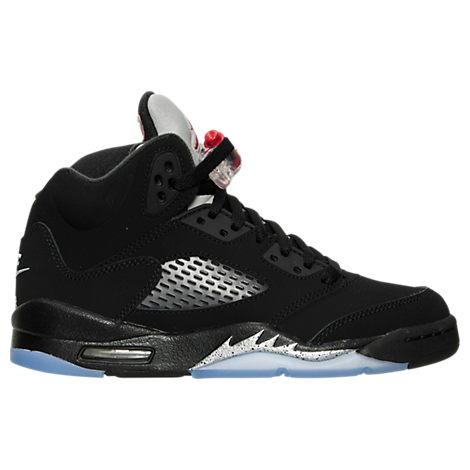 Boys' Grade School Air Jordan 5 Retro Basketball Shoes