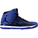 Right view of Men's Air Jordan XXXI Basketball Shoes in Black/Game Royal/White