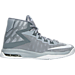 Right view of Boys' Grade School Nike Air Devosion Basketball Shoes in