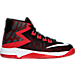 Right view of Boys' Preschool Nike Air Devosion Basketball Shoes in