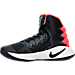 Left view of Boys' Grade School Nike Hyperdunk 2016 Basketball Shoes in