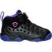 Right view of Girls' Toddler Jordan Jumpman Team II Basketball Shoes in 017