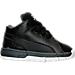 Right view of Boys' Toddler Jordan Ol' School Low Basketball Shoes in Black/Metallic Silver/Dark Grey