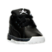 Three Quarter view of Boys' Toddler Jordan Ol' School Low Basketball Shoes in Black/Metallic Silver/Dark Grey