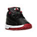 Three Quarter view of Boys' Toddler Jordan Ol' School Low Basketball Shoes in 006