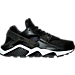 Right view of Women's Nike Air Huarache Run Premium Running Shoes in 008