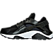 Left view of Women's Nike Air Huarache Run Premium Running Shoes in 008