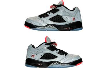 BOYS' GRADESCHOOL JORDAN RETRO 5 LOW