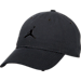 Front view of Jordan Jumpman Floppy H86 Adjustable Hat in Black/Black