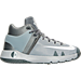 Right view of Boys' Preschool Nike KD Trey 5 IV Basketball Shoes in Wolf Grey/White/Cool Grey