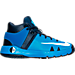 Right view of Boys' Preschool Nike KD Trey 5 IV Basketball Shoes in Photo Blue/White/Midnight Navy