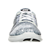 Front view of Men's Nike Free RN Print Running Shoes in Cool Grey/Light Silver