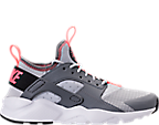 Girls' Grade School Nike Air Huarache Run Ultra Casual Shoes