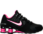 Girls' Grade School Nike Shox Avenue Running Shoes
