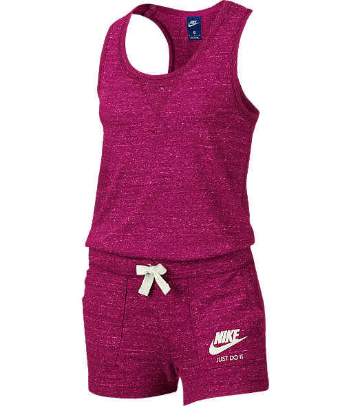 Girls' Nike Sportswear Gym Vintage Romper