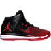 Right view of Boys' Grade School Air Jordan XXXI Basketball Shoes in Black/University Red/White