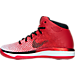 Left view of Boys' Grade School Air Jordan XXXI Basketball Shoes in Varisty Red/Black/White