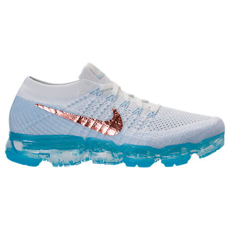 WOMEN'S AIR VAPORMAX FLYKNIT RUNNING SHOES, WHITE