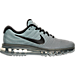 Right view of Men's Nike Air Max 2017 Running Shoes in Tumbled Grey/Black/Stealth