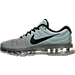 Left view of Men's Nike Air Max 2017 Running Shoes in Tumbled Grey/Black/Stealth