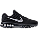 Right view of Women's Nike Air Max 2017 Running Shoes in Black/White-Anthracite
